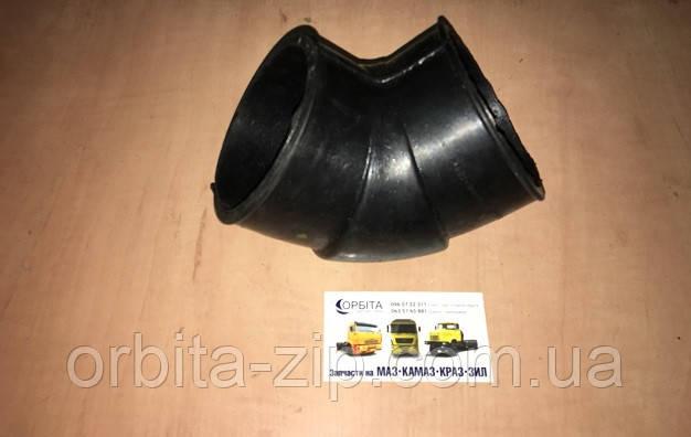 64227-1109375 Перехідник повітряного фільтра МАЗ гумовий шланг кутовий малий (D=80 мм) (Білорусь)