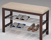 "Скамейка для обуви  ""SR-0628"" (коричневая)"