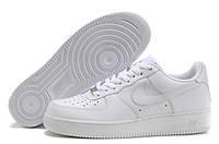 Кроссовки женские/мужские Найк форс белые Nike Air Force 1 low white