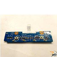 Плата з кнопками тачпаду для ноутбука SONY FE865E, FE590P , 1P-105C502-8011, в хорошому стані, без пошкоджень.
