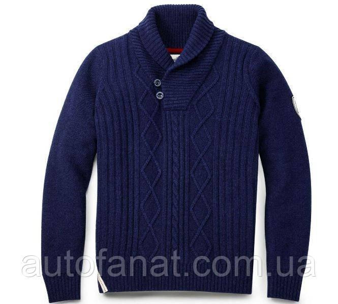 Оригинальный мужской пуловер Volkswagen Classic Pullover, Men's, Dark Blue (311084100A530)