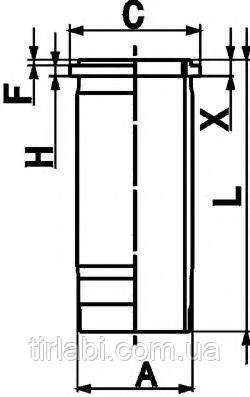 Гильза DAF 95CF 105XF (MX…) Euro 4/5