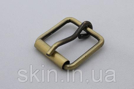 Пряжка сумочная, ширина - 25 мм, цвет - антик, артикул СК 5108, фото 2