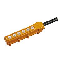 Пульт управления тельферный ПКТ-63 на 6 кнопк IP54 IEK