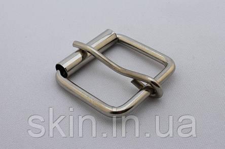 Пряжка сумочная, ширина - 35 мм, цвет - никель, артикул СК 5167, фото 2