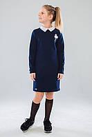 Шкільна сукня для дівчинки: Санди синій