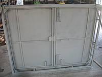 Ворота гаражные 2,6х2,5 м металл 1,2 мм в двойной рамке, фото 1