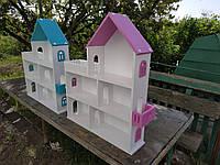 """Дом для кукол и игрушек """"Деревянный домик"""""""