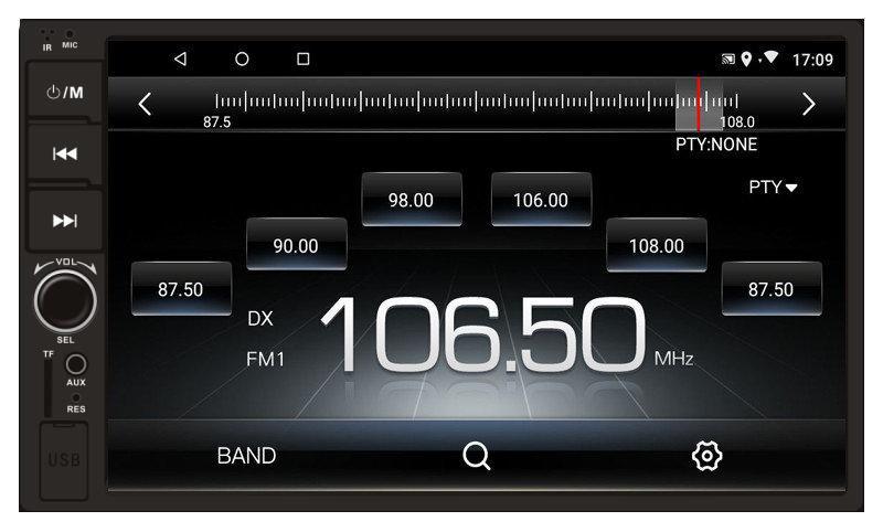 Автомагнитола Terra 8078 GPS Android 8