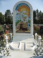 Мраморный памятник М-218