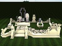 Мраморный памятник М-226