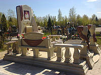 Мраморный памятник М-227