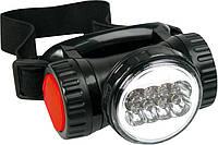 Фонарик налобный, 8 х LED; батарейки 4xAAA Top Tools 94W816.