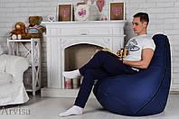 Бескаркасное Кресло мешок груша пуфик Oxford 600d