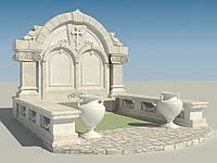 Мраморный памятник М-230