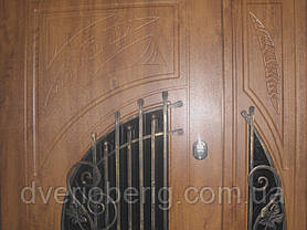 Входная дверь двух створчатая модель П5-381 vinorit-02 КОВКА , фото 3