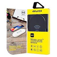 Беспроводное зарядное устройство  Awei W2 5V/1A Black