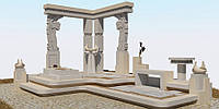 Мраморный памятник М-231