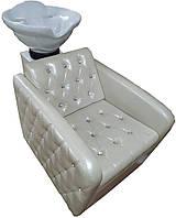 Парикмахерская мойка Юджин Кристалл с итальянской керамикой,сантехникой