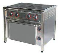 Плита электрическая с жарочным шкафом ПЭ-4Ш Н