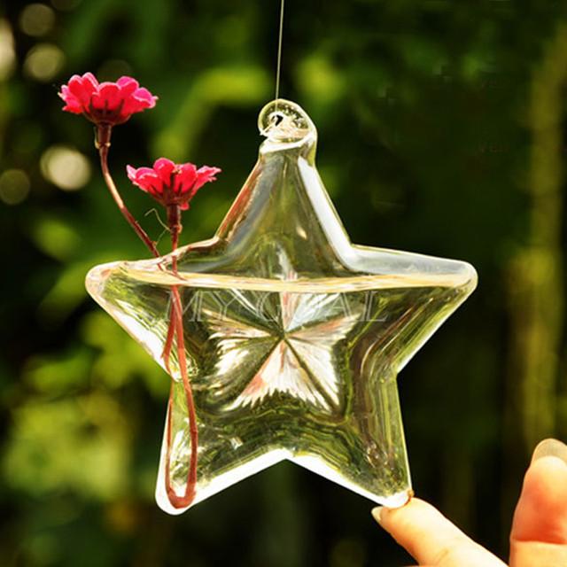 подвесная стеклянная ваза украина звезда