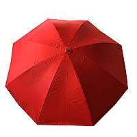 Зонт торговый, пляжный, садовый d 2,5 метра Anty UF  металлическая спица, напыление Красный