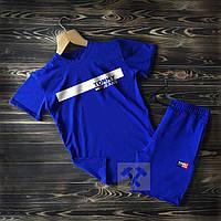 Шорты и футболка Tommy Hilfiger синего цвета