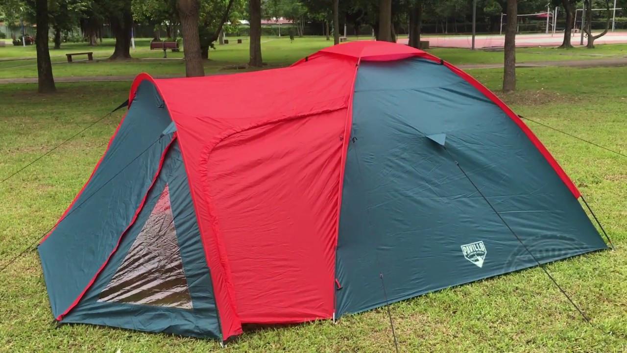 Палатка, двух, слойная, четырёх, 4, местная, с, тамбуром, намет, туристическая