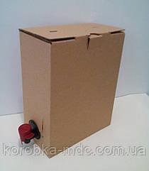 Коробка 3 литра  Bag in box T24