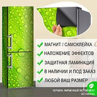 Магнитная наклейка на холодильник (виниловый магнит) Декор на холодильник, 600*1800 мм, Лицевая