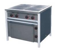 Плита электрическая с жарочным шкафом ПЭ-4Ш Ч