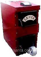 Твердотопливный котел с водяным контуром для дома Santa-17 кВт с системой автоматики
