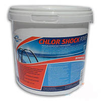 Быстрорастворимые гранулы CHLOR SHOCK 1 кг  pw8010