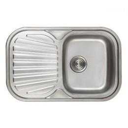 Кухонна мийка Haiba 74*48 satin, фото 2