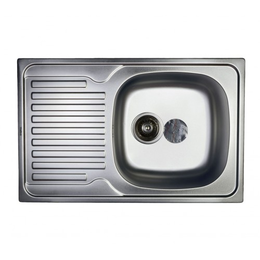 Кухонная мойка Haiba 78*50 satin, фото 2