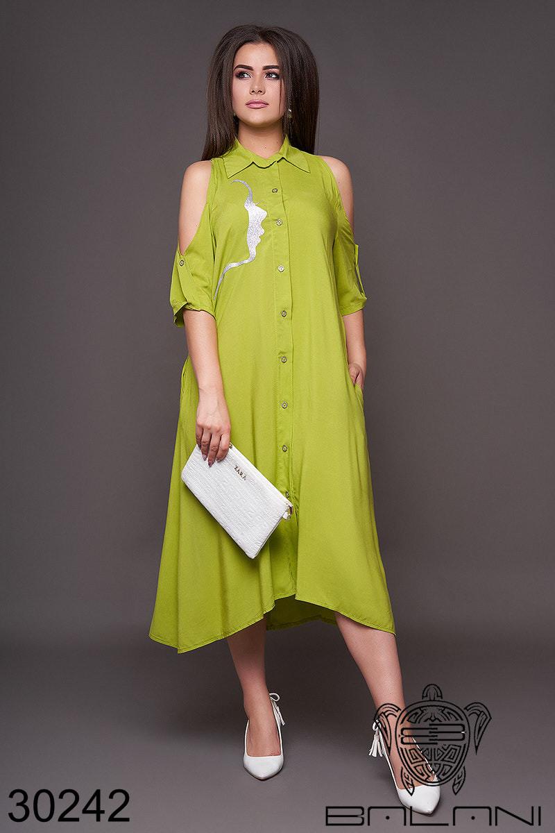 Платье женское летнее, размер:48-50,52-54,56-58,60-62