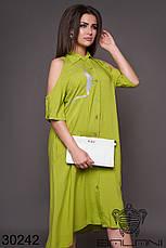 Платье женское летнее, размер:48-50,52-54,56-58,60-62, фото 2