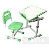 Комплект парта и стул-трансформеры FunDesk Sole Green