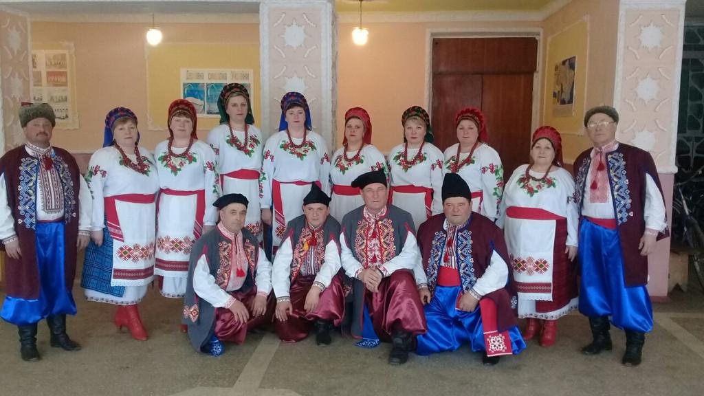 колектив калина хмельницької області шепетівський  район с,Чотирбоки