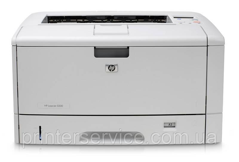 БУ лазерный принтер А3 Hp LaserJet 5200dn с дуплексом