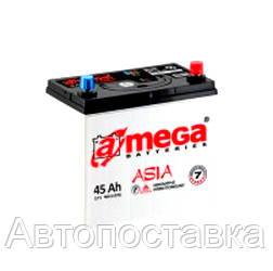 Аккумулятор A-Mega Asia (M7) 6СТ-45Ач 460А (0),(1)