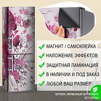 Магнитная наклейка на холодильник (виниловый магнит) Пленка на холодильник, 600*1800 мм, Лицевая