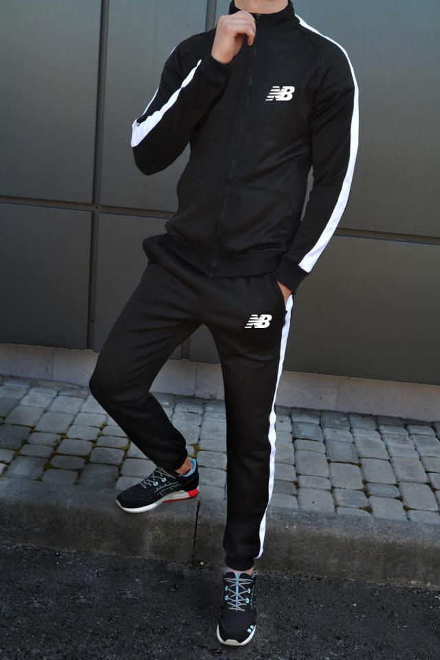 Мужской летний тренировочный костюм New Balance (Нью Беленс)