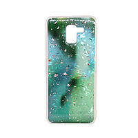 Чехол бампер Samsung J600 Baseus Light Stone Green