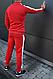 Красный спортивный костюм Puma для тренировок (Пума), фото 2