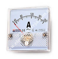 Амперметр АС 200/5А 80х80 модель А-80