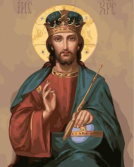 Картина по номерам Икона Христа Спасителя 40 х 50 см (BK-GX5237)