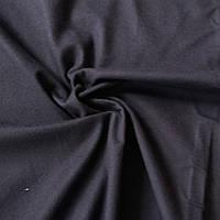 Фланель (байка) черная однотонная, ширина 90 см, фото 1
