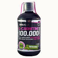 Жиросжигатель BioTech L-Carnitine 100 000 (500мл) яблоко