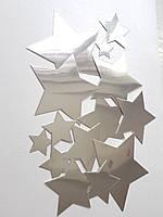 Набор вырубки из зеркального картона для творчества, для декора